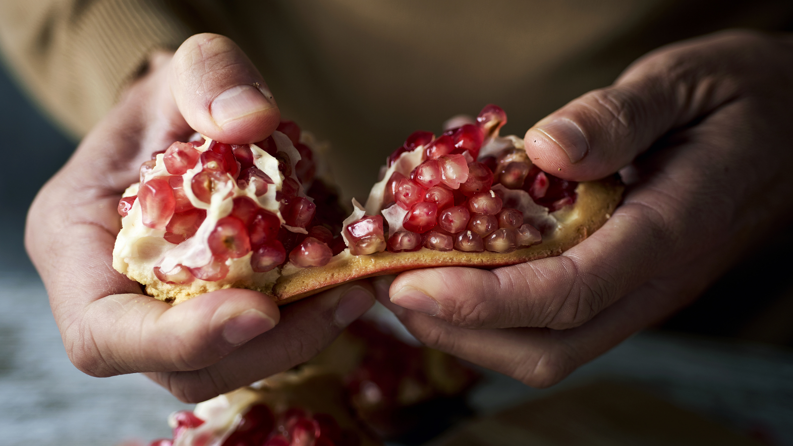 Research suggests that pomegranates have cancer-fighting properties, specifically breast cancer