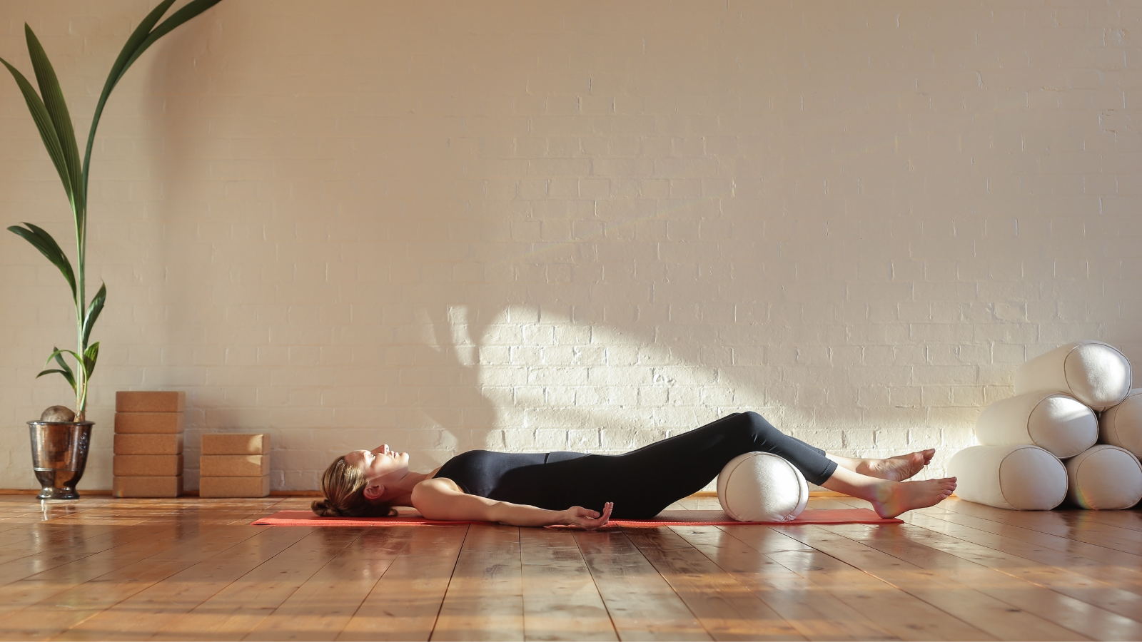 Yoga teaching tips for closing meditation practice in Savasana Pose sequence for grief